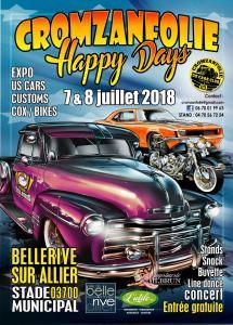 CROMZANFOLIE HAPPY DAYS – BELLERIVE-SUR-ALLIER (03) @ Stade Municipal | Bellerive-sur-Allier | Auvergne-Rhône-Alpes | France