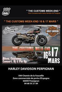 The Customs Week-end - Perpignan (66) @ 500 chemin de la Fauceille | Perpignan | Occitanie | France