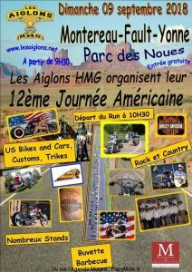 12e Journée Américaine - Les Aiglons HMG - Montereau-Fault-Yonne (77) @ Parc des Noues   Montereau-Fault-Yonne   Île-de-France   France