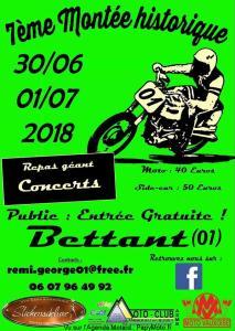 7e Montée Historique - Bettant (01) @ Bettant (01) | Bettant | Auvergne-Rhône-Alpes | France