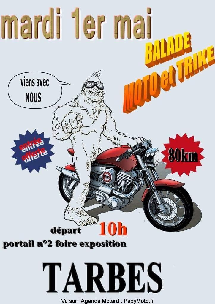 Balade Moto et Trike – Tarbes (65)
