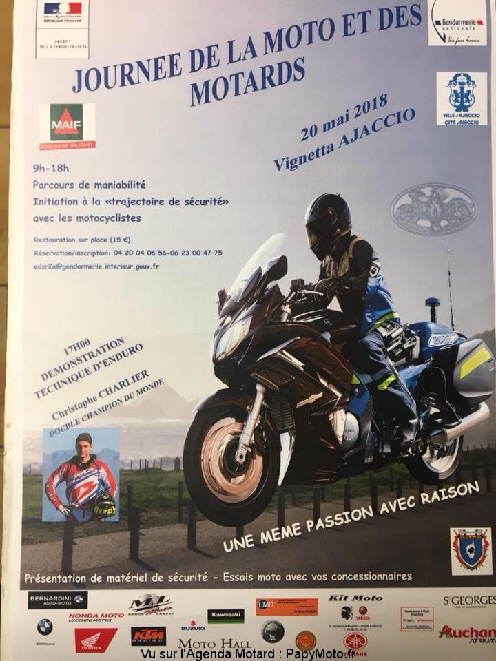 Journée de la moto et des motards – – AJACCIO (2A)