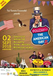 THE AMERICAN DAY 5 – POUZAY (37) @ POUZAY (37) | Pouzay | Centre-Val de Loire | France