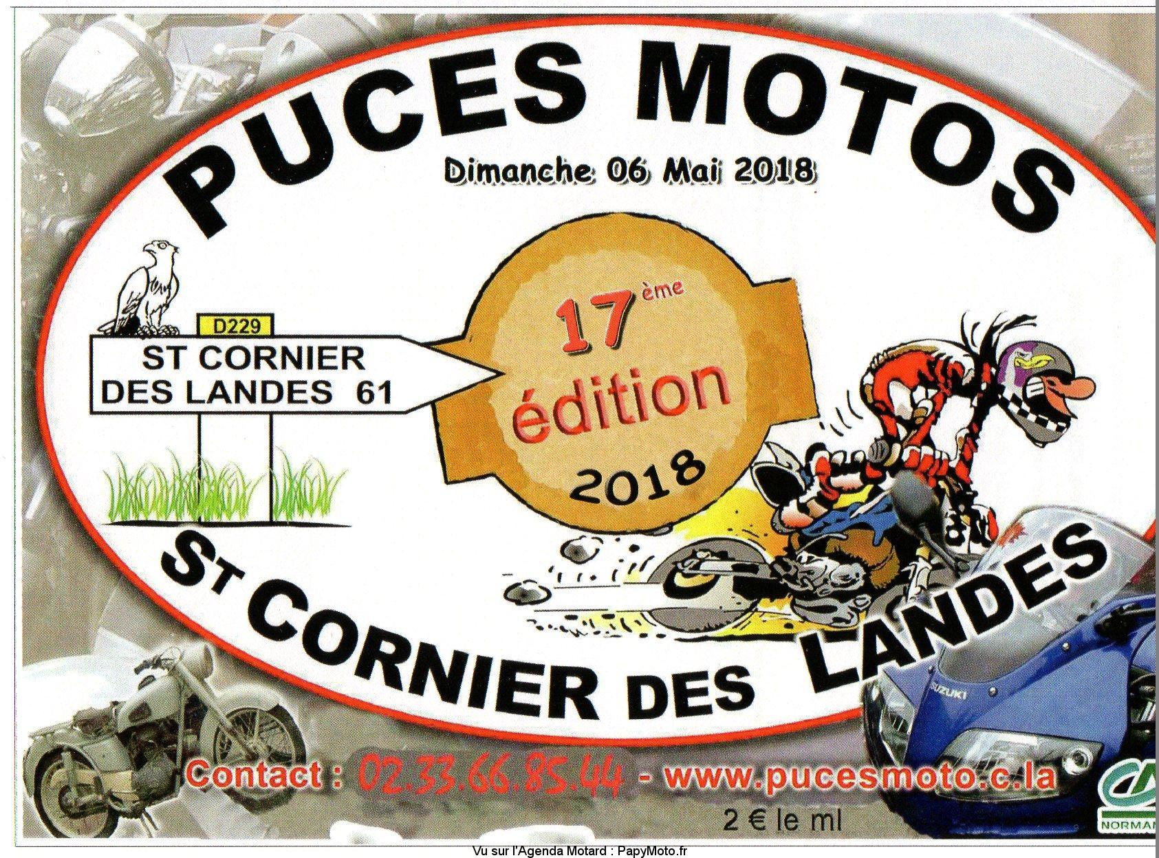 17e Puces Motos – Saint Cornier des Landes (61)
