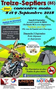 3e CONCENTRE MOTO – TREIZE-SEPTIERS (85) @  TREIZE-SEPTIERS (85)  | Treize-Septiers | Pays de la Loire | France