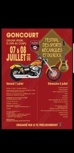 Festival des sports mécaniques et du rock - Goncourt (52) @ Ancien stade | Goncourt | Grand Est | France