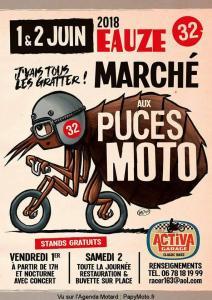 Marché aux Puces Moto - Eauze (32) @ Eauze (32)   Eauze   Occitanie   France