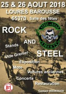 Rock and Steel - Steel on Road Liberty - Loures Barousse (65) @ Salle des fêtes- Loures Barousse (65) | Loures-Barousse | Occitanie | France
