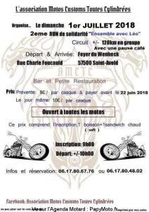 2e Run de solidatité Ensemble avec Léo - Saint Avold (57) @ Foyer du Wenheck | Saint-Avold | Grand Est | France