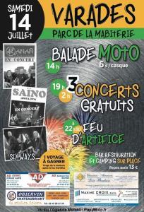 Balade Moto - Varades (44) @ Parc de la Mabiterie | Varades | Pays de la Loire | France