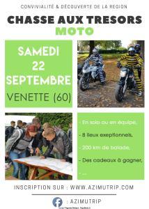 Chasse aux trésors MOTO  - Venette (60) @ Venette (60) | Venette | Hauts-de-France | France