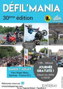Défil'mania - Moto Club d'Epernay - Epernay (51) @ Parc Roger Menu | Épernay | Grand Est | France