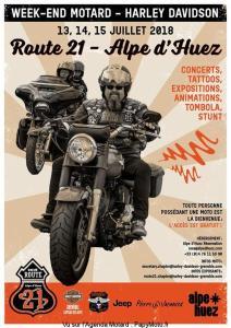 Week-end Motard - Harley Davidson - Alpe d'Huez (38) @ Alpe d'Huez (38) | Huez | Auvergne-Rhône-Alpes | France