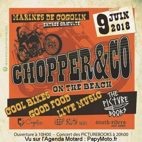 Chopper and Co on the beach – Cogolin (83)