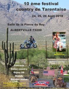 10e Festival Country de Tarentaise - Albertville (73) @ Salle de la Pierre du Roy | Albertville | Auvergne-Rhône-Alpes | France