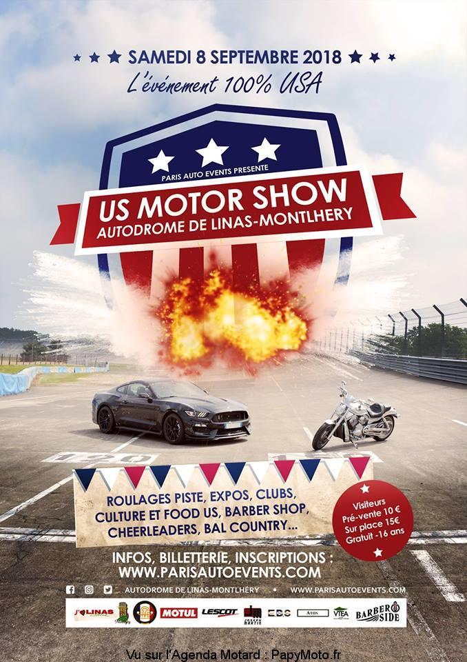 US Motor Show – Linas-Montlhéry (91)