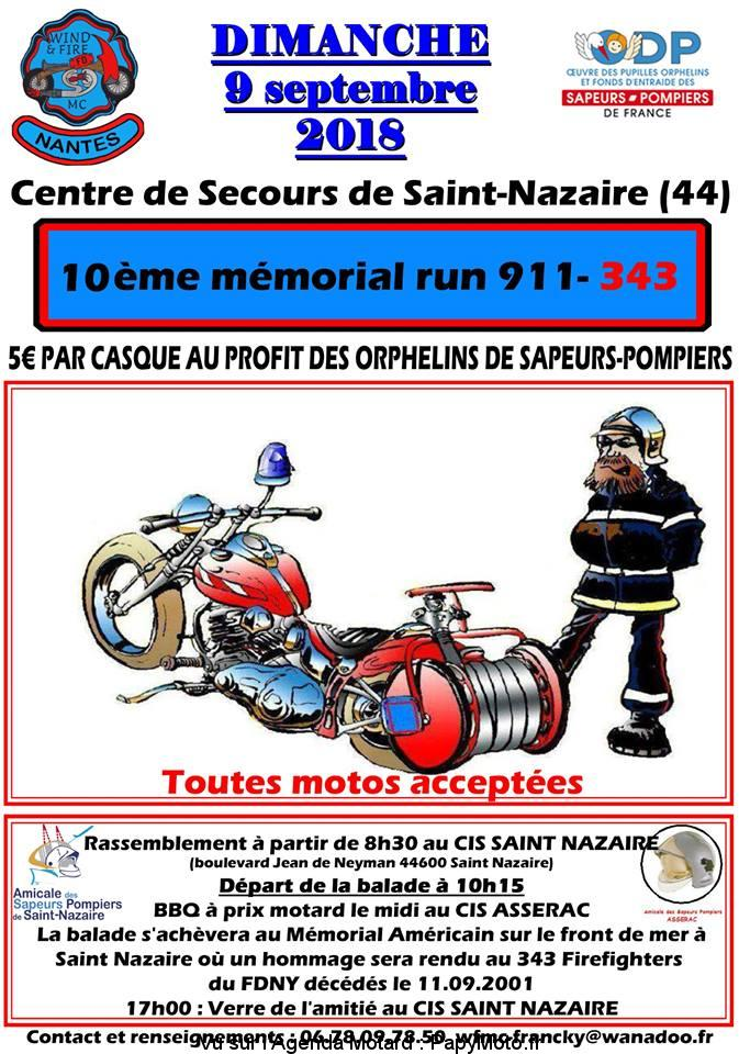 10 e Mémorial Run 911-343 – Saint Nazaire (44)