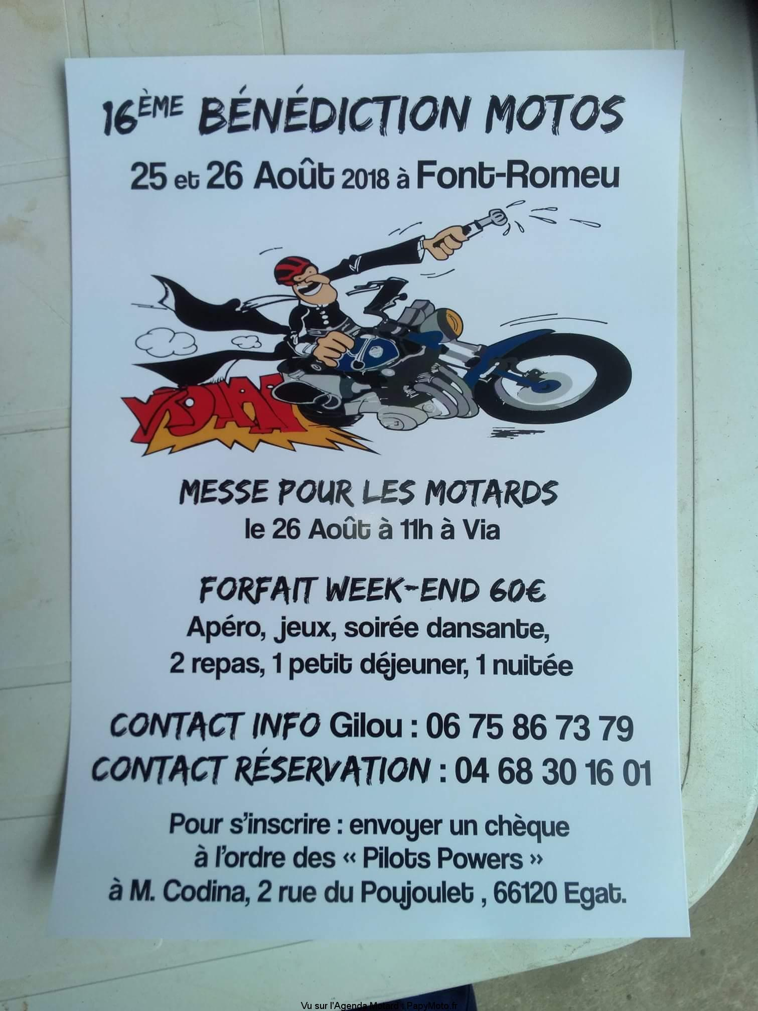 16e Bénédiction Motos – Font-Romeu (66)