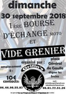 1e Bourse d'échange Moto - Grifin's of the Road - Digne les Bains (04) @ Place Général de Gaulle | Digne-les-Bains | Provence-Alpes-Côte d'Azur | France