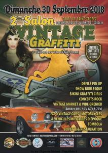 2e Salon Vintage Graffiti - Saint Tropez (83) @ Parking place des marines de Cogolin | Cogolin | France