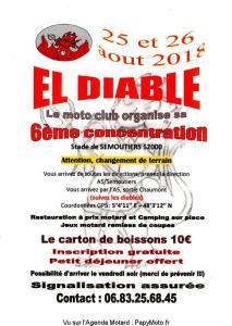 6e Concentration El Diable - Semoutiers (52) @ Stade | Semoutiers-Montsaon | Grand Est | France