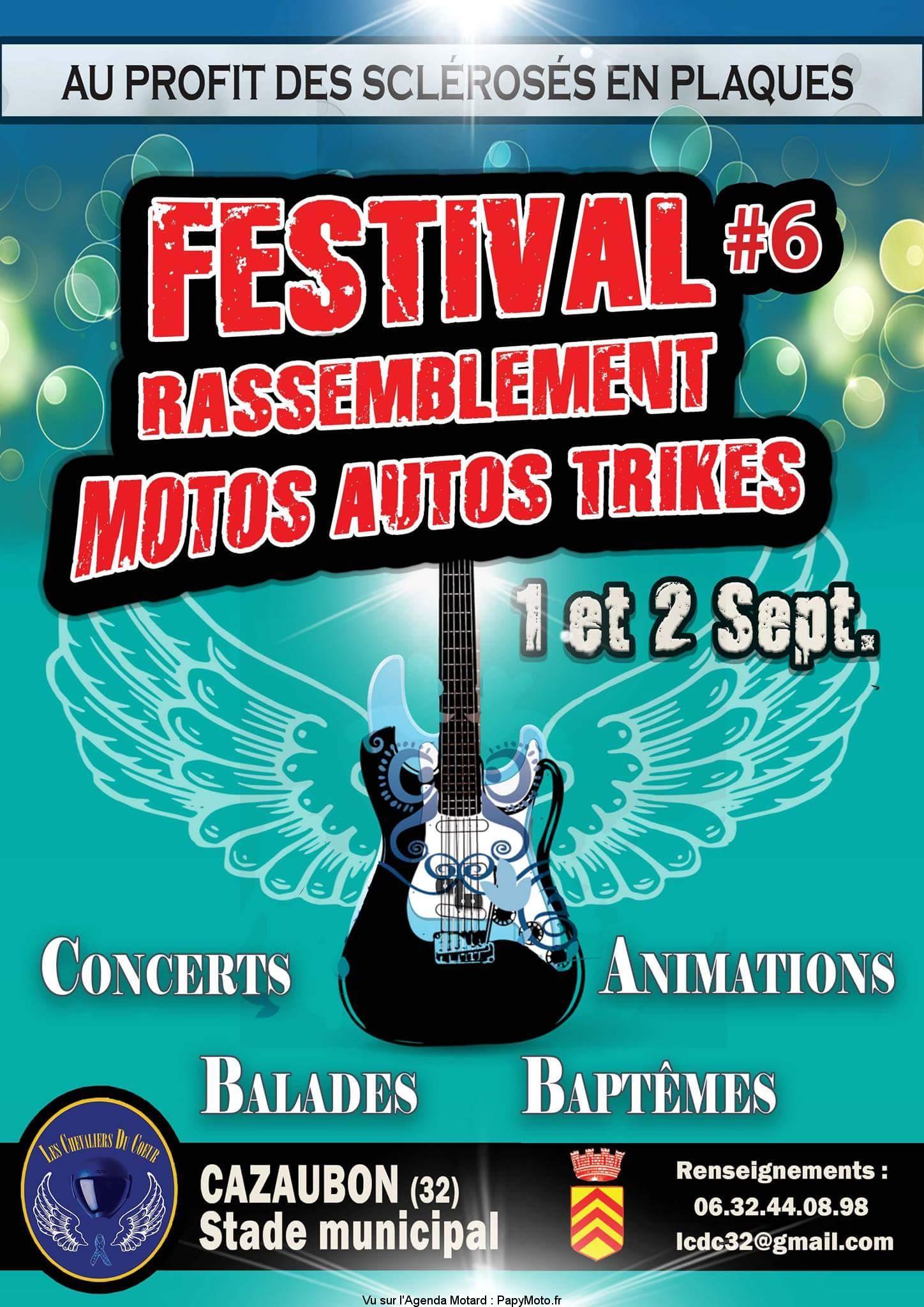 6e Festival Rassemblement Motos Autos Trikes – Cazaubon (32)