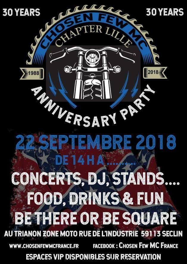 Anniversary Party – Choosen Few MC – Seclin (59)