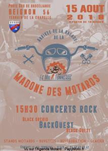 Arrivée de la Balade de la Madone des motards - Le Mil Tonerre - Beignon (56) @ Le Mil Tonerre | Beignon | Bretagne | France