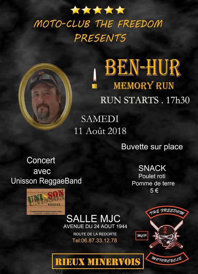 Sortie Rieux Minervois (Aude) Ben-Hur-Memory-Run-The-Freedom-Rieux-Minervois-11