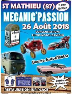 Mécanic'Passion - Le Bouchon de Saint Mathieu - Saint Mathieu (87) @ Saint Mathieu | Saint-Mathieu | Nouvelle-Aquitaine | France