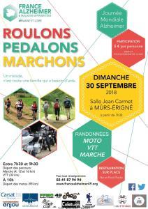 Roulons  pédalons Marchons - Mûrs- Erigné (49) @ Mûrs- Erigné (49)   Mûrs-Erigné   Pays de la Loire   France