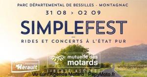 Simplefest Rides et concerts à l'état pur - Montagnac (34) @ Parc départemental de Bessilles | Montagnac | Occitanie | France