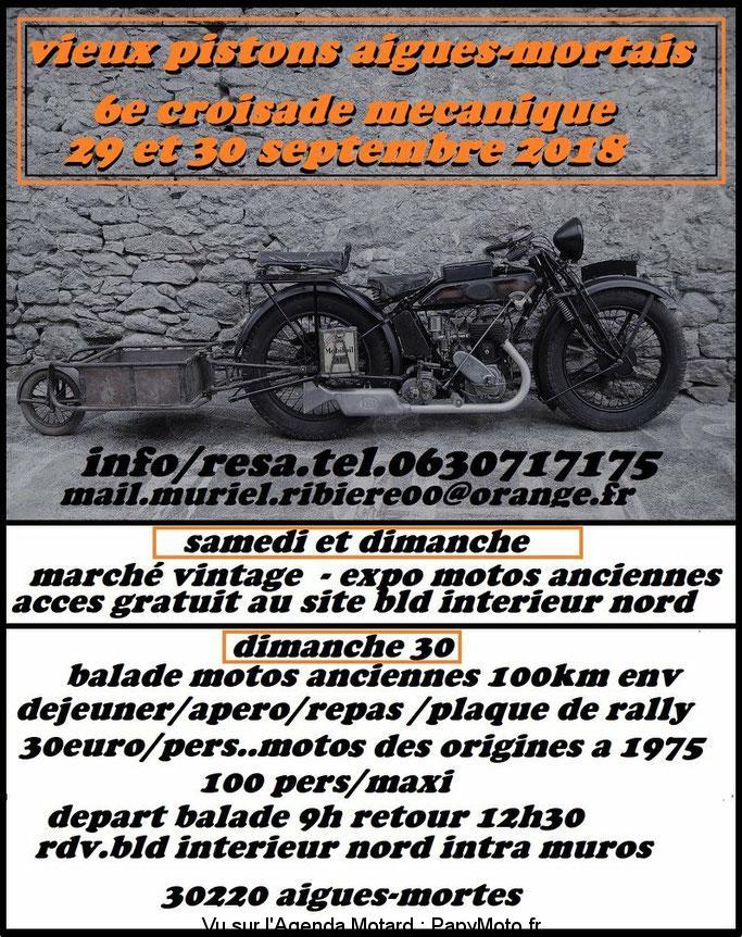 6e croisade mécanique – Aigues Mortes (30)