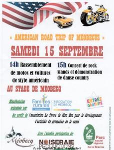Américan Road Trip of Moebus - Méobecq (36) @ Stade | Châteauroux | Centre-Val de Loire | France
