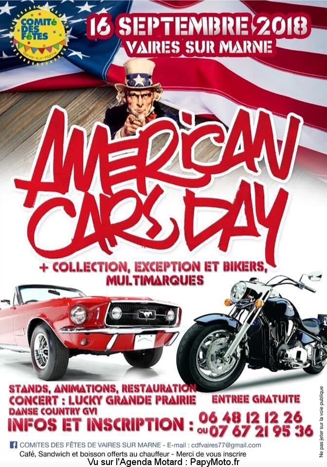 Américan cars day - Vaires sur Marne (77)