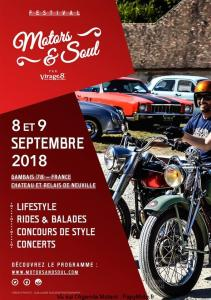 Festival Motors et Soul - Gambais (78) @ Chateau et relais de Neuville | Gambais | Île-de-France | France