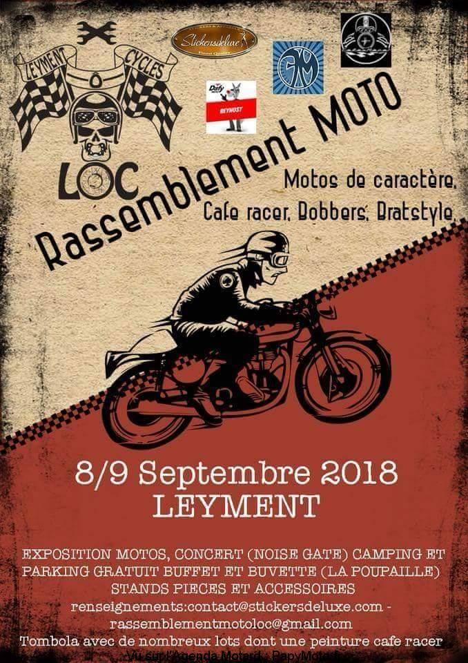 Rassemblement Moto - LOC - Leyment (01)