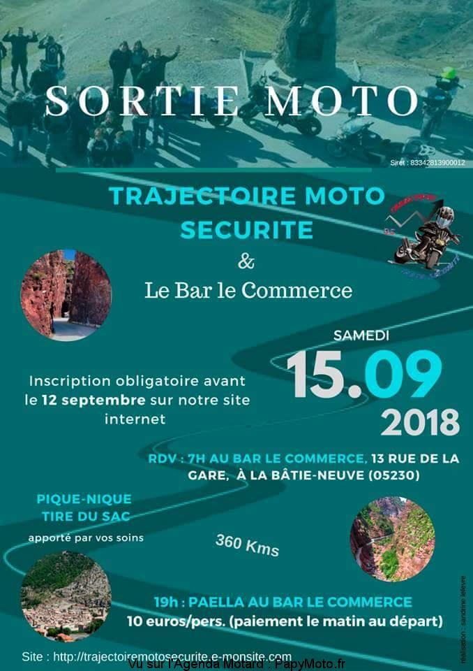 Sortie Moto – Trajectoire moto sécurité – La Bâtie-Neuve (05)