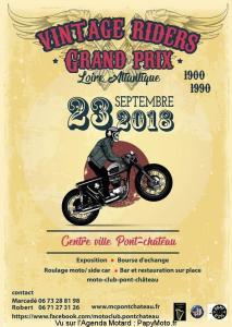 Vintage Riders Grand Prix - PontChateau (44) @ Centre Ville | Pontchâteau | Pays de la Loire | France