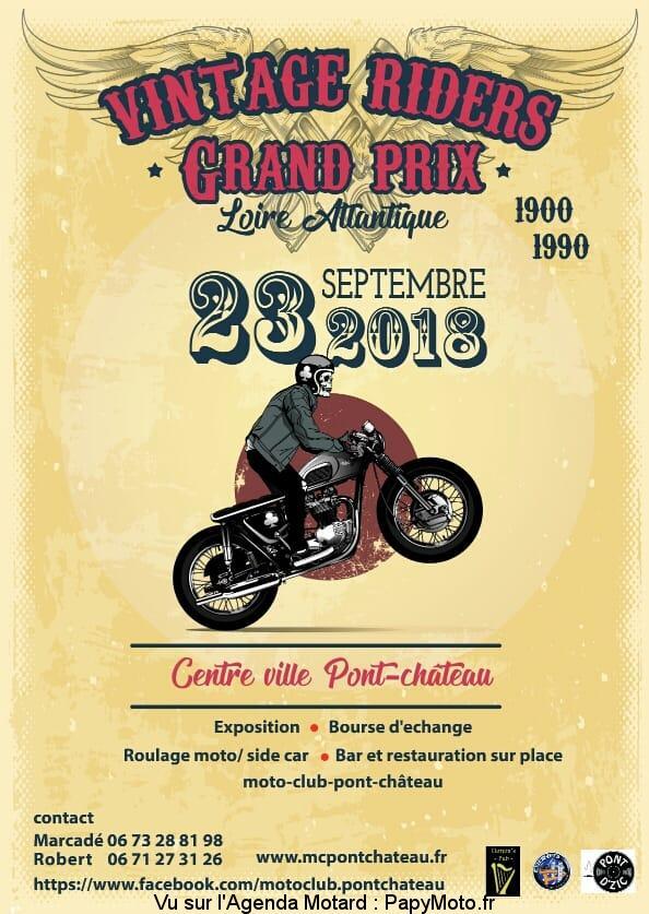 Vintage Riders Grand Prix - PontChateau (44)