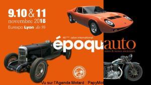 40e Salon international époqu'auto - Lyon (69) @ Eurexpo | Chassieu | Auvergne-Rhône-Alpes | France