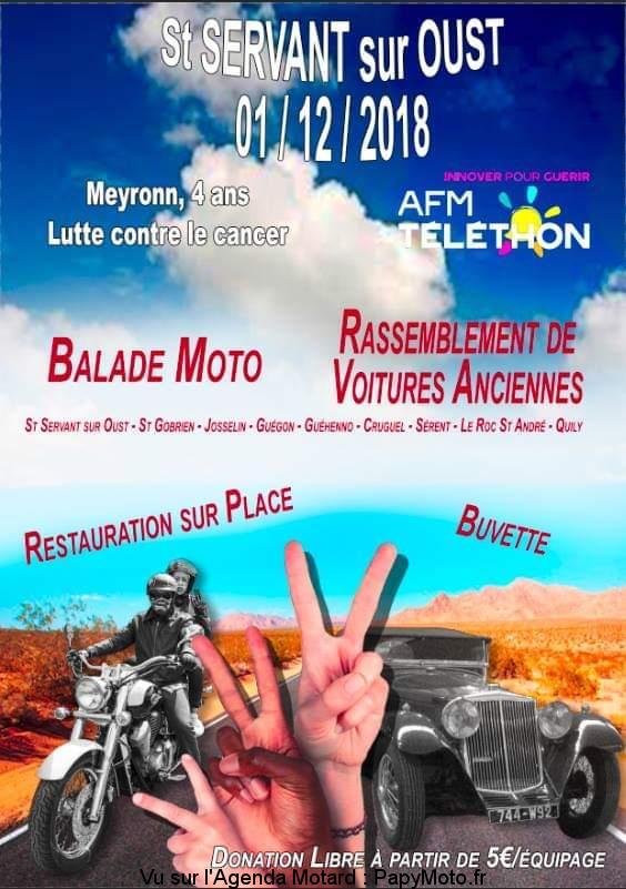 Balade Moto –  – Saint Servan sur Oust (56)