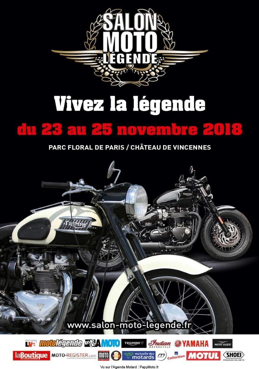 Salon Moto Legend – Paris (75)