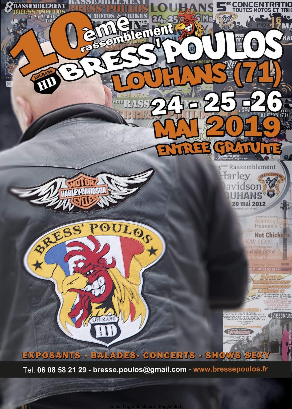 10e Rassemblement Bress'Poulos – Louhans (71)