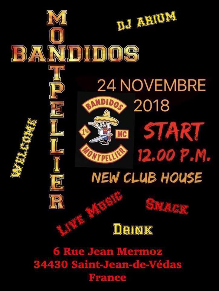 Bandidos Montpellier – Saint Jean de Vedas (34)