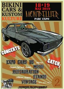 Bikini Cars & Kustom Kulture - Montpellier (34) @ Parc Expo | Pérols | Occitanie | France