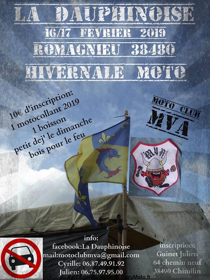 La Dauphinoise – Hivernale Moto – Moto Club MVA – Romagnieu (38)