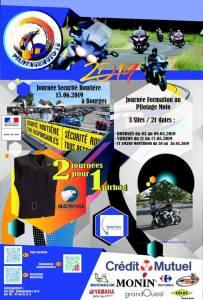 Journée Sécurité Routiére - Journée Formation au Pilotage Moto - Bourges - Vierzon - St Armand Montrond (18)