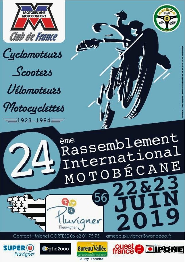 24ème rassemblement du Motobécane Club de France – Pluvigner (56)