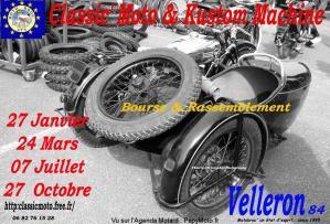 Classic' Moto & Kustom Machine – Velleron (84)